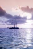 Recreatief Jacht in de Indische Oceaan royalty-vrije stock afbeeldingen