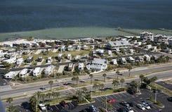 Recreatief voertuigpark op de kust van Florida Royalty-vrije Stock Foto