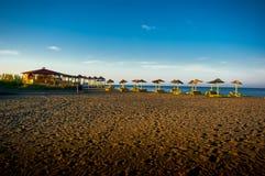 Recreation area Ada Bojana. Royalty Free Stock Image