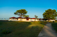 Recreation area Ada Bojana. Stock Images