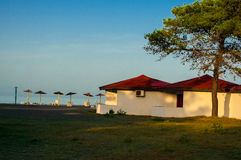 Recreation area Ada Bojana. Royalty Free Stock Images