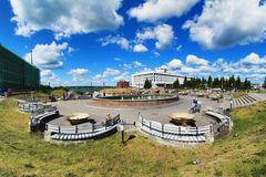 Recreation area in the city Stock Images