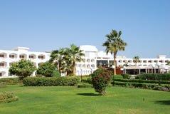 Recreation area of luxury hotel Royalty Free Stock Photo