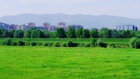 Recreation area in Zagreb Stock Photos