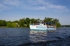 Recreation boat Royalty Free Stock Images