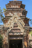 Recreation of Cambodian temple of Angkor Stock Photography