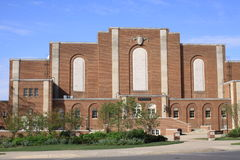 Recreation hall Building, campus of the Penn State Royalty Free Stock Photo