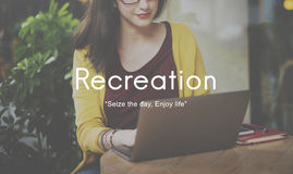 Recreation Hobbies Leisure Pastime Activity Concept royalty free stock images