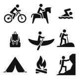 Recreation icons Vector Illustration