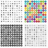 100 recreation icons set vector variant. 100 recreation icons set vector in 4 variant for any web design isolated on white vector illustration
