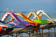 Recreation and leisure on the water. Stock Images