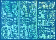 Microscopic cpu transistors. This is the recreation of the microscopic cpu recreation . The central processing unit & x28;CPU& x29; is a chip that functions as Stock Photos
