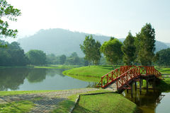 Recreation Park. A Recreation Park in Malaysia on a sunny morning Royalty Free Stock Photo