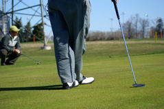 Recreation Park Golf Area Stock Photo