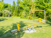 Recreation playground Royalty Free Stock Photos
