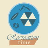 Recreation time Royalty Free Stock Images