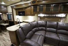Recreation Vehicle Interior royalty free stock image