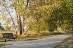 Recreational biking trail Royalty Free Stock Photography