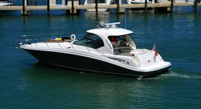 Recreational boating Royalty Free Stock Images