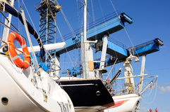 Recreational boats Stock Photography