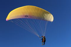 Recreational paragliding event Stock Photography
