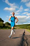 Recreational runner Stock Photography