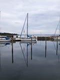 Recreational Sail Yacht Royalty Free Stock Image