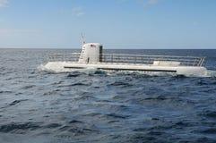 Recreational Submarine Surfacing Royalty Free Stock Photo