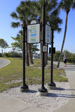 Recreational Trail Sarasota Stock Photos
