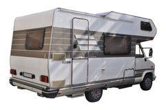 Recreational Vehicle. Isolated on white background Stock Image