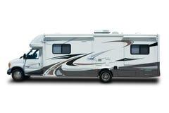 Recreational Vehicle. Big Recreational Vehicle Isolated on White Background Royalty Free Stock Image