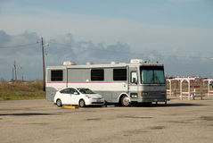 Recreational vehicle in America Royalty Free Stock Photography