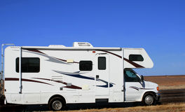 Recreational Vehicle SouthWestern Road Trip Stock Images