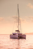 Recreational Yacht at the Indian Ocean Stock Photography
