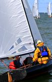 Recreational yachting event Stock Photo