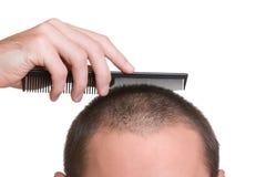 Recruit hair Stock Photography