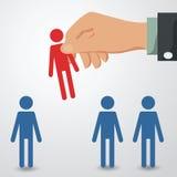 recruitement royalty free illustration