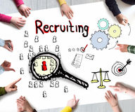 Recruiting concept Stock Photo