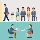 recruitment ilustração royalty free