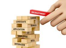 recruitment Imagens de Stock