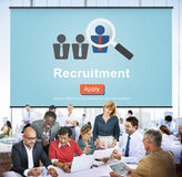 Recruitment Apply Homepage Human Resources Concept Royalty Free Stock Photo