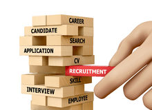 RECRUITMENT Stock Photography