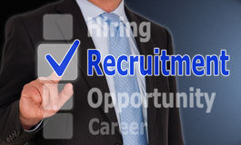 Recruitment Royalty Free Stock Photo