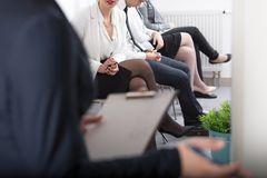 Recruitment in corporation Royalty Free Stock Image