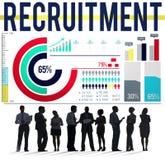 Recruitment Human Resources Employment Occupation Concept Stock Photos