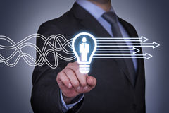 Recruitment Innovation Concepts royalty free stock image