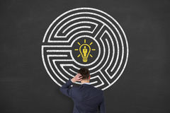 Recruitment Labyrinth. Working Conceptual Business Concept Stock Photo