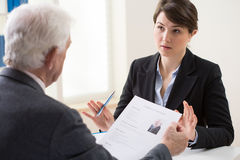 Recruitment meeting Royalty Free Stock Images