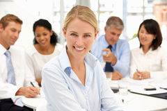 Recruitment Office Meeting Royalty Free Stock Photos