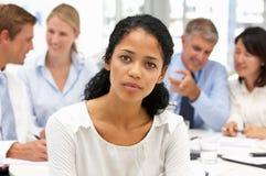 Recruitment office meeting Stock Photos